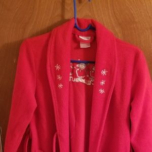Red Total Girl Robe